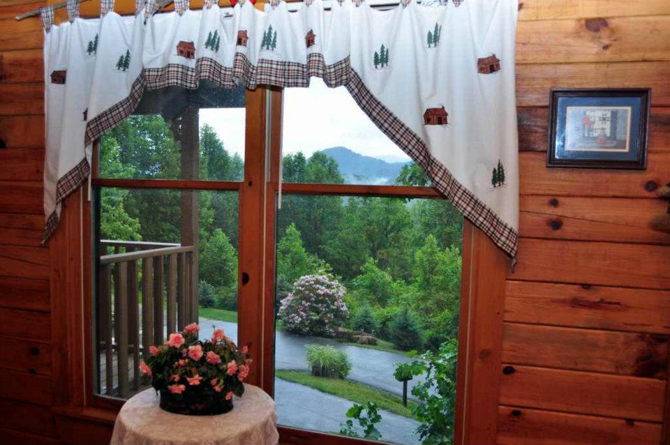 Cabin 1 Bedroom View