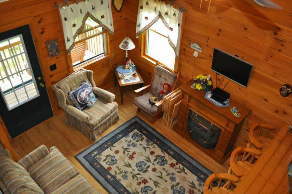 Cabin 4 Living Room
